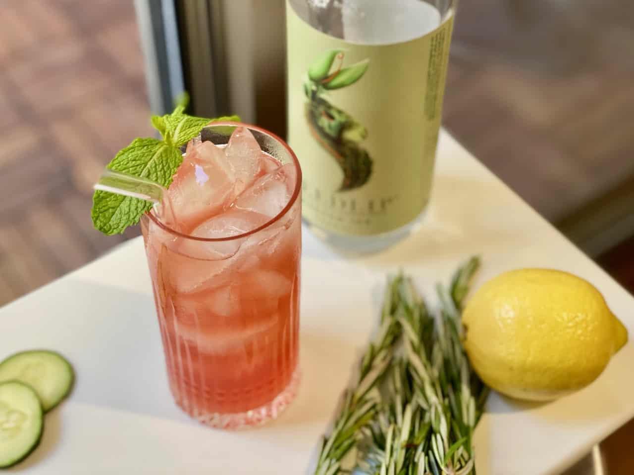 seedlip garden cocktail