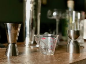 the best jigger is a mini measuring cup