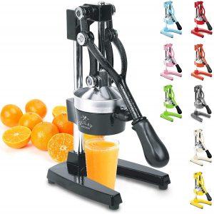 commercial citrus press in multiple colors
