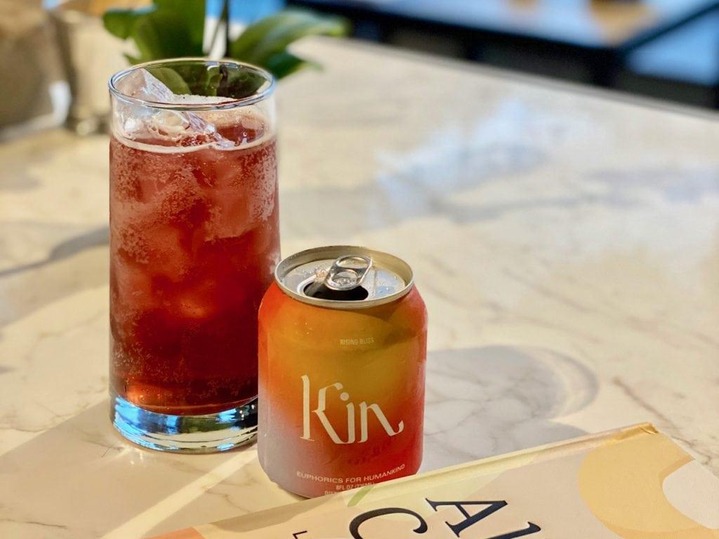 kin spritz canned non alcoholic spritz