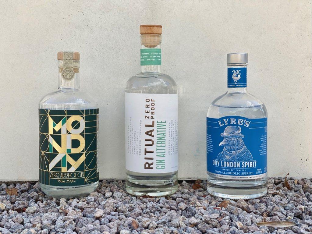best non alcoholic gin bottles