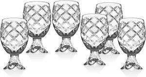 mini clear pineapple shot glasses