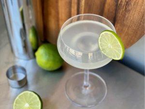 daiquiri cocktail with non alcoholic rum