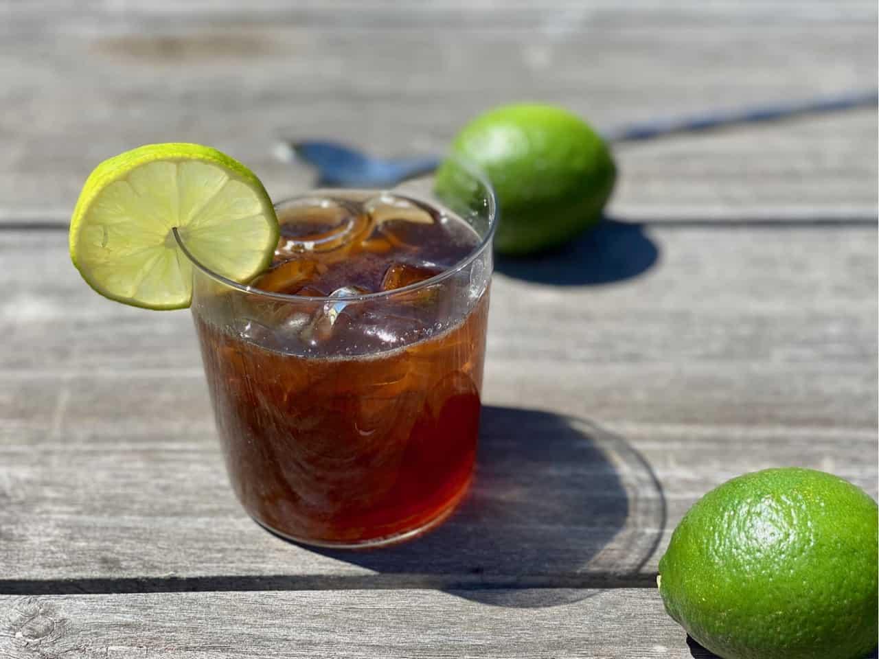 non alcoholic rum and coke