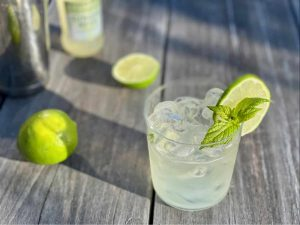 ritual gin and ginger beer