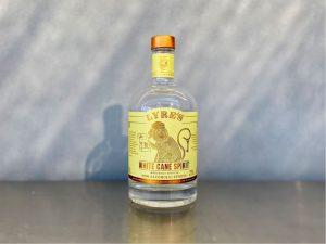lyres white cane spirit bottle