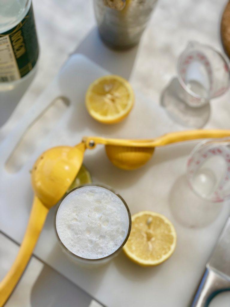 non alcoholic ramos gin fizz test