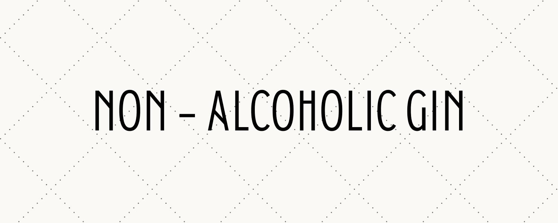 header banner for non alcoholic gin