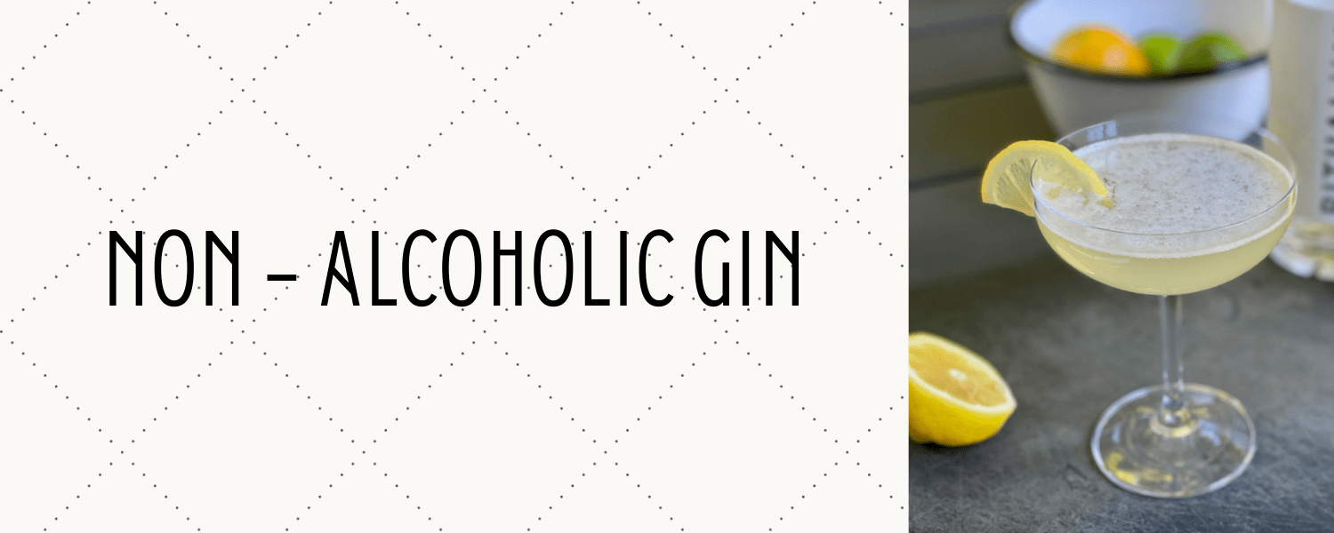 banner for non alcoholic gin