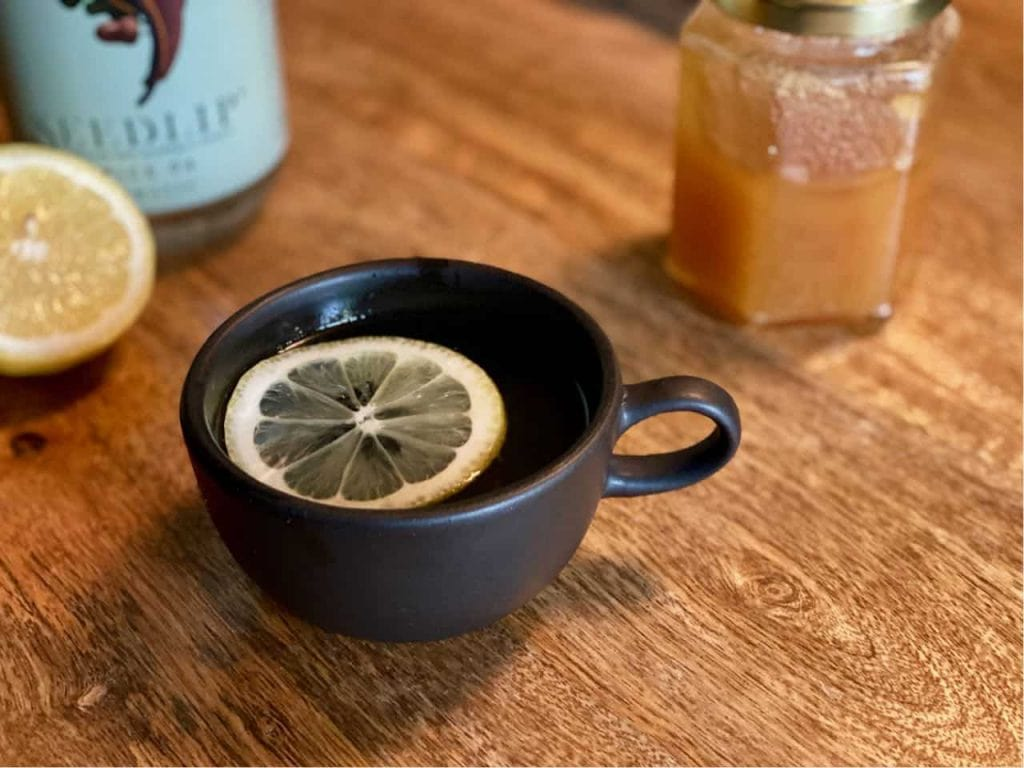 alcohol free hot toddy