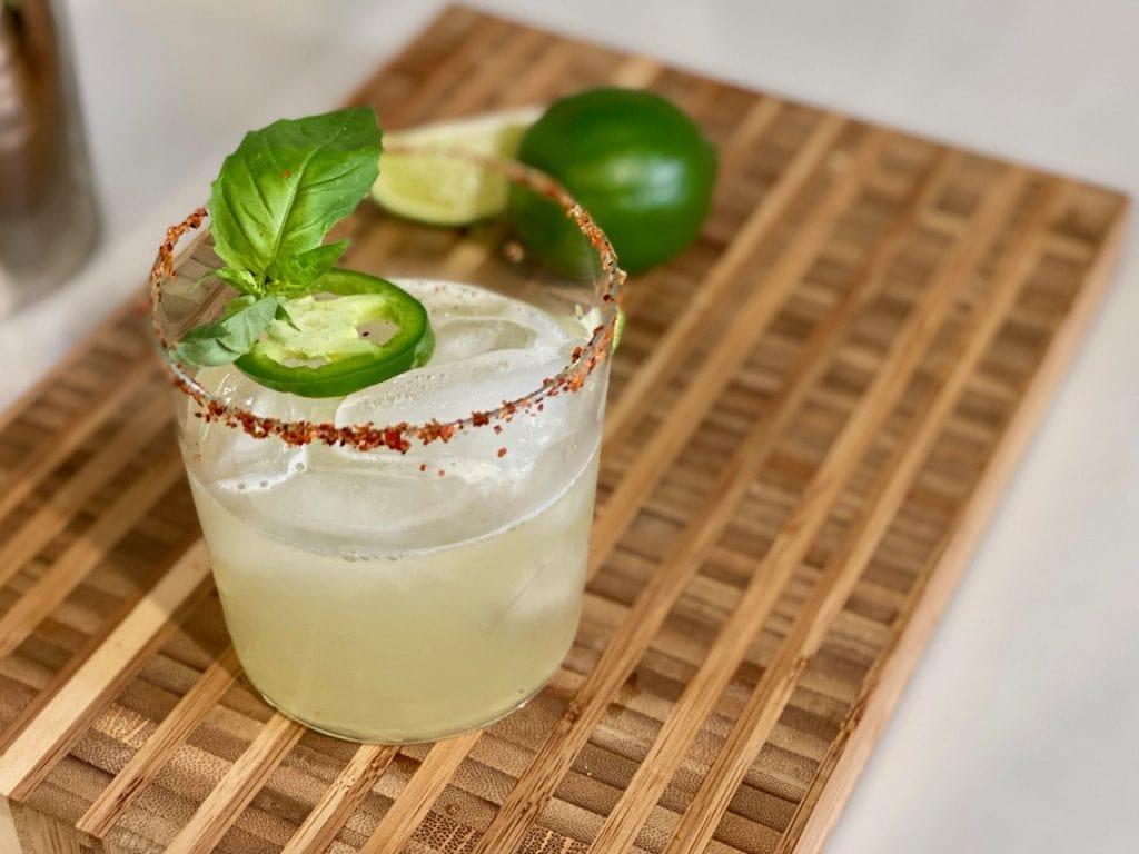 ritual tequila in a spicy non alcoholic margarita