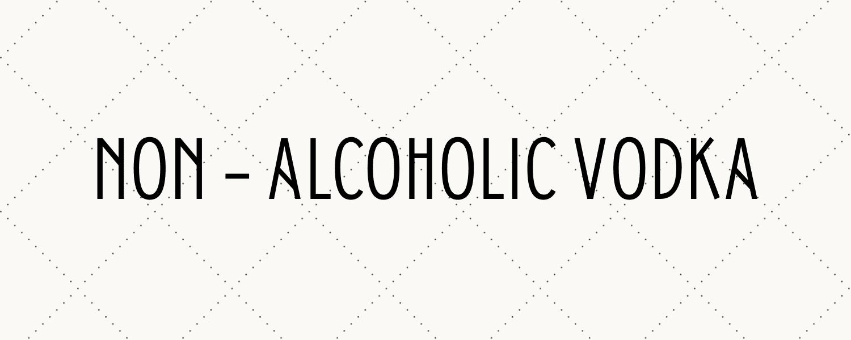 alcohol free vodka title banner mobile