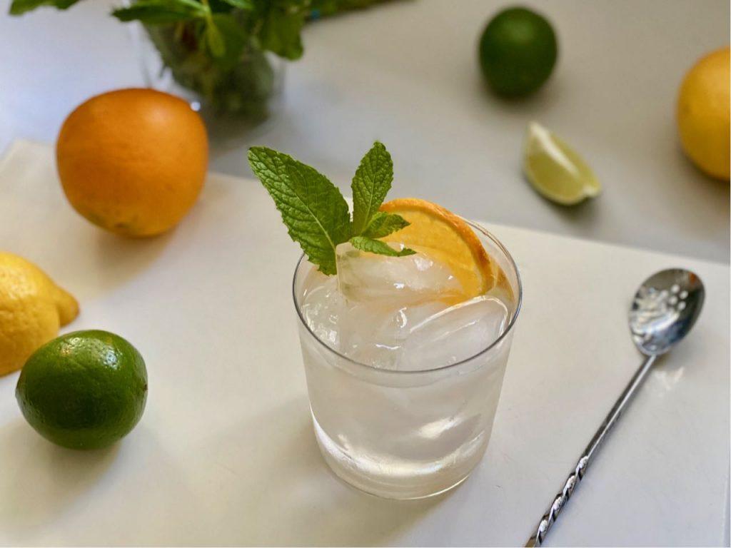 non alcoholic vodka soda