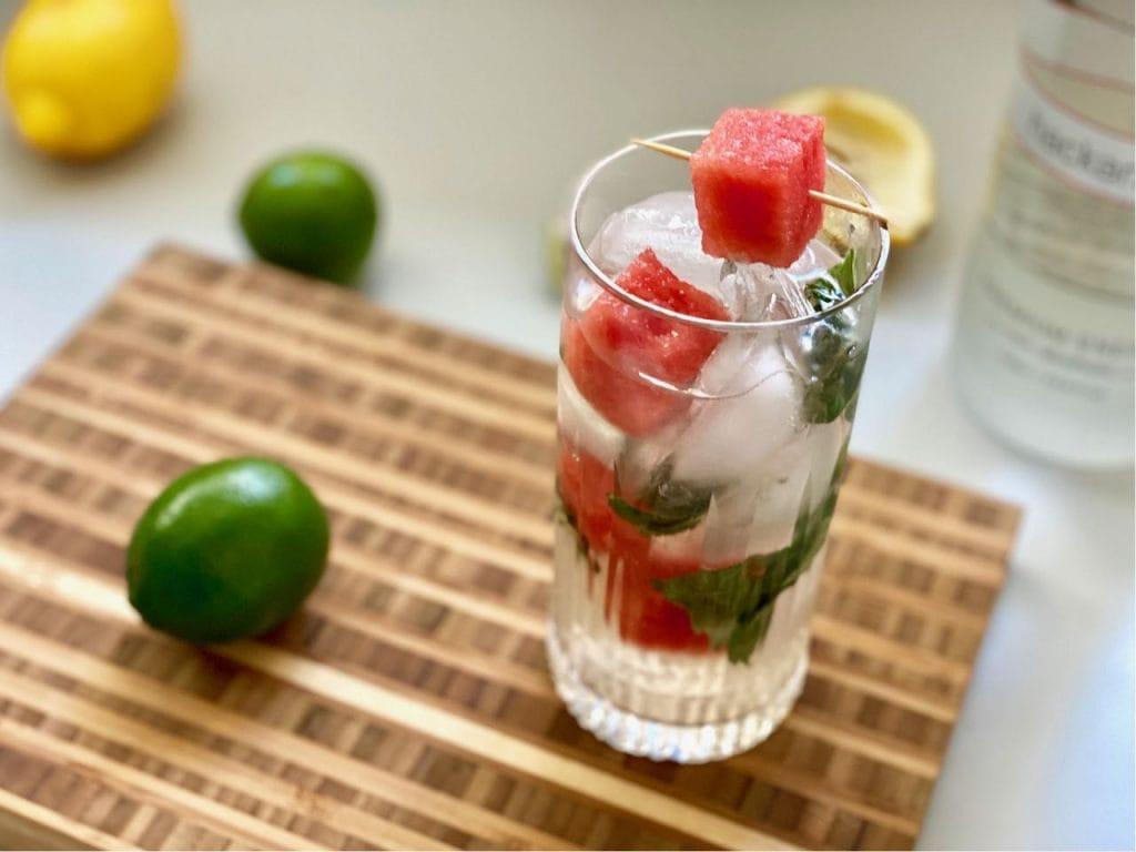 non alcoholic vodka watermelon