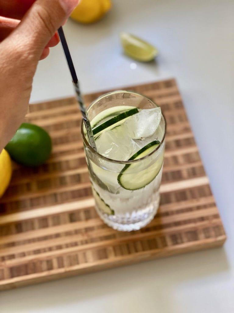 alcohol free vodka soda