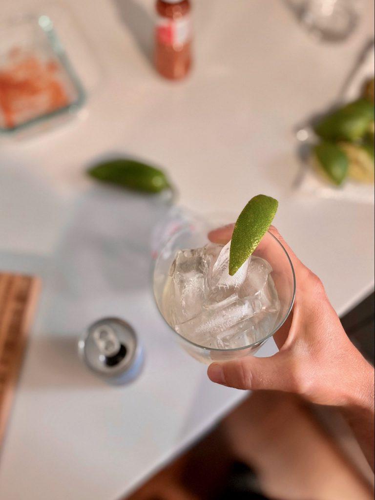 non alcoholic tequila tonic