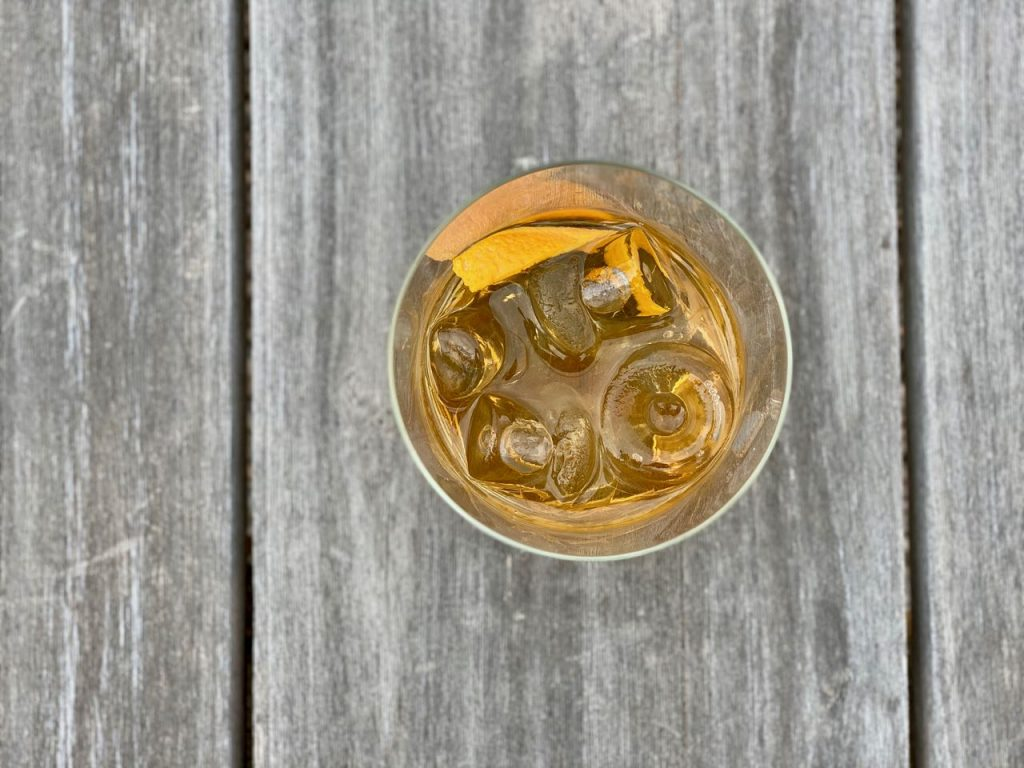 ritual whiskey non alcoholic old fashioned