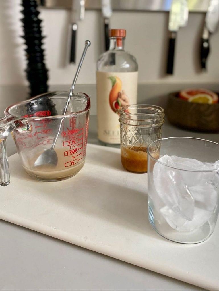 testing seedlip grove cocktails