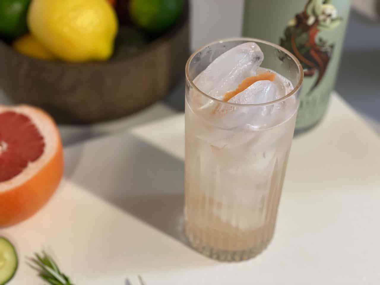 testing Seedlip Spice in brand cocktails