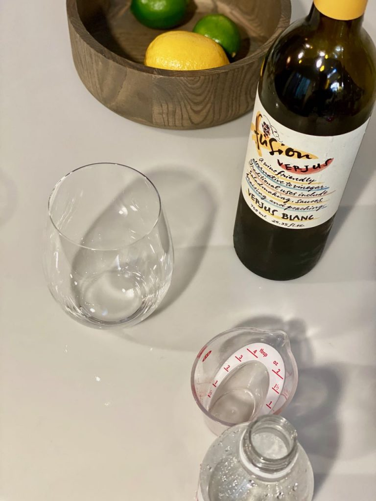 non alcoholic spritz ingredients