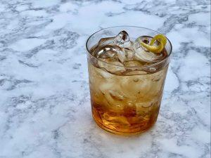 versin vermouth in non alcoholic vermouth and soda
