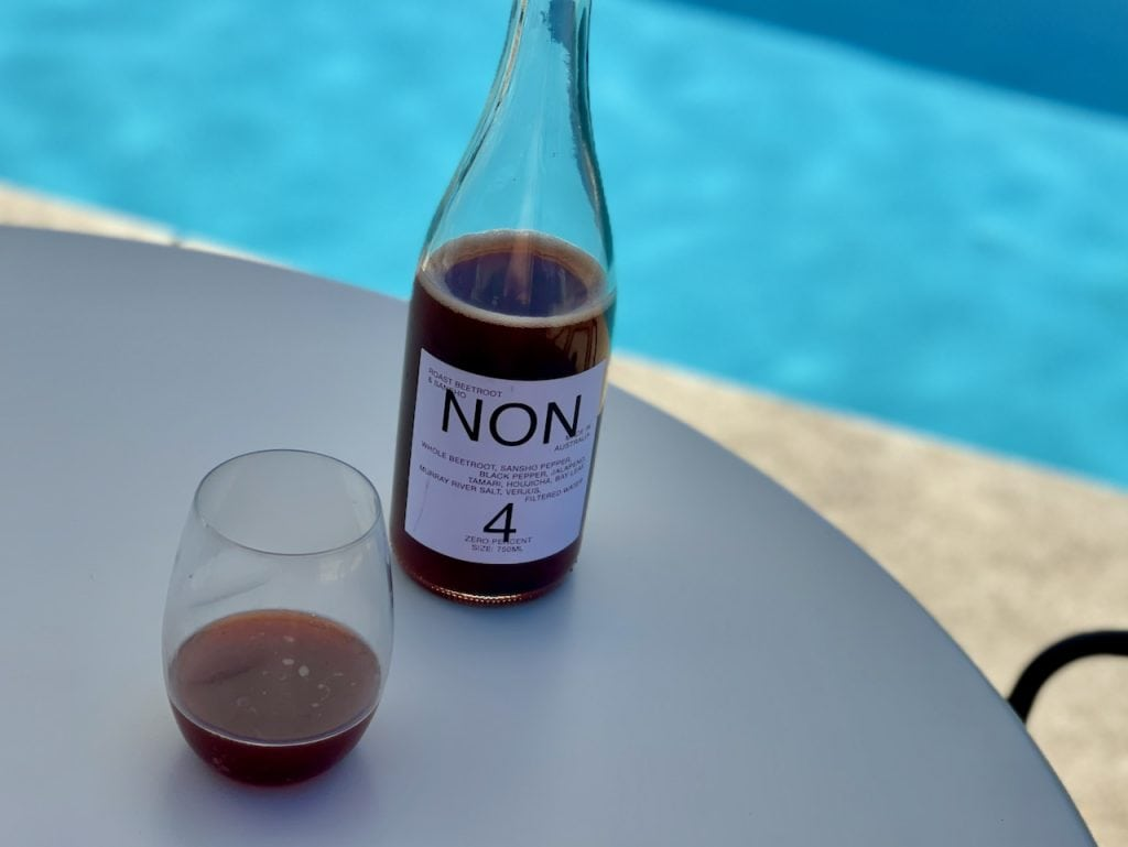 beet sancho non alcoholic wine